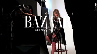 Taylor Swift for Harpers Bazaar